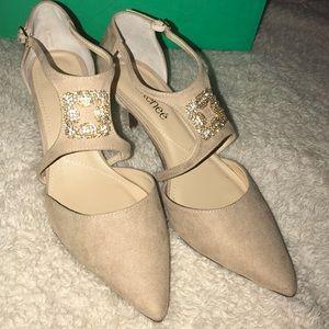 J. Renee: suede heels